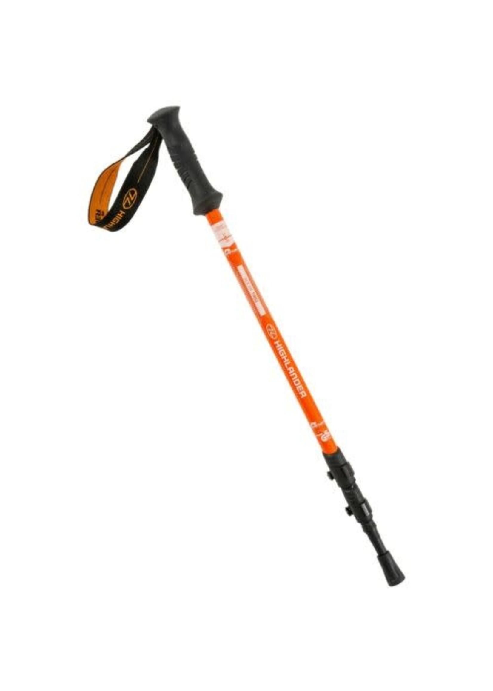 Highlander Highlander Tiree Walking Pole, Orange