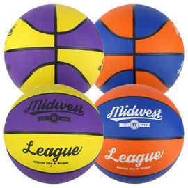 Midwest League Basketball, size 3