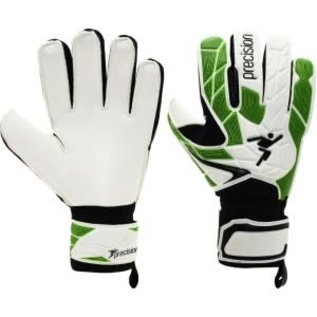 Precision Training Precision Fusion X 3D Flat Cut Basic Goalie Gloves, White