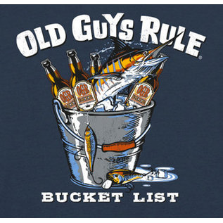 Old Guys Rule Old Guys Rule T-Shirt - Bucket List