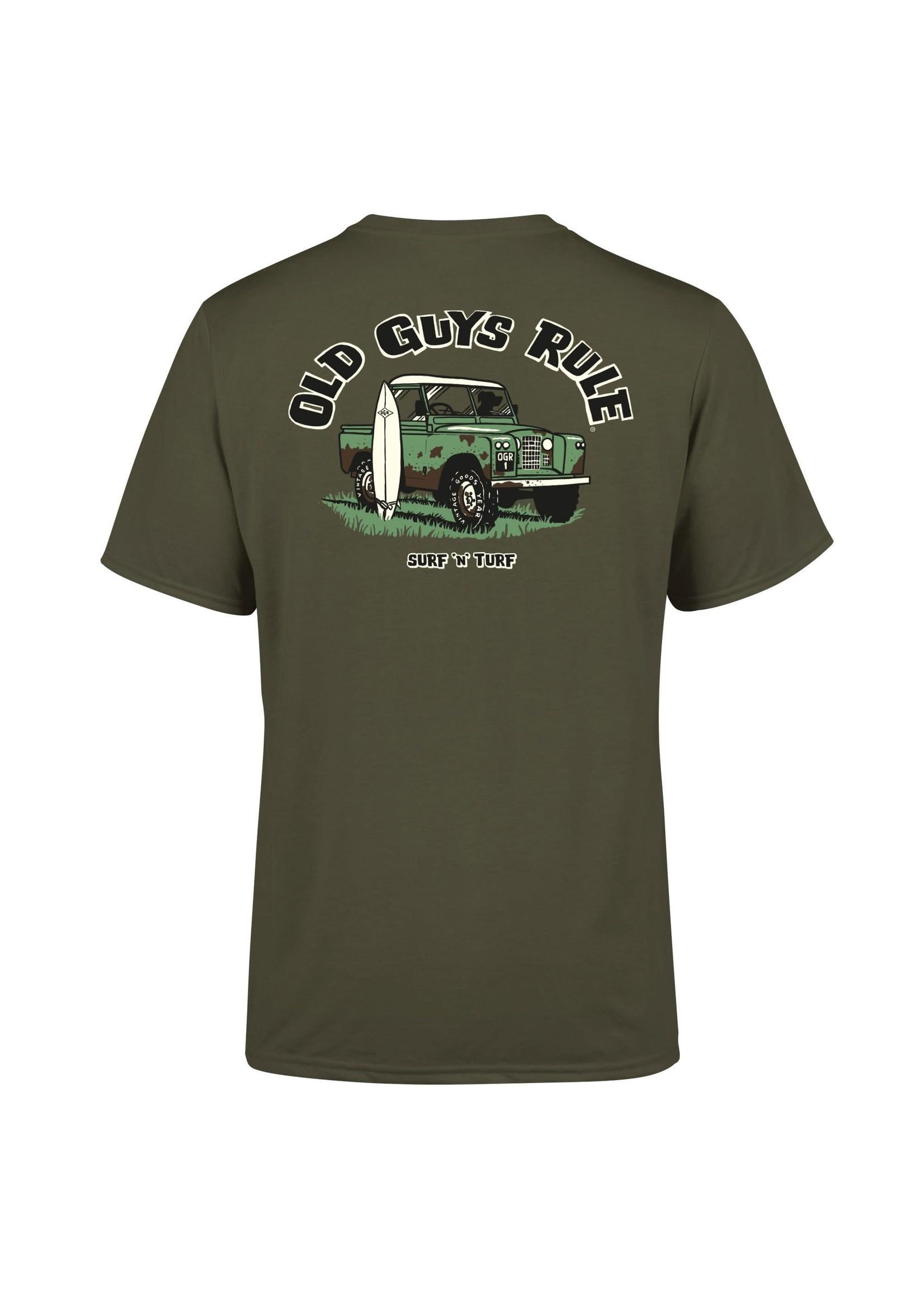 Old Guys Rule Old Guys Rule T-Shirt - Surf n'Turf