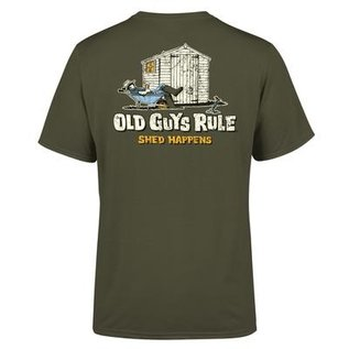 Old Guys Rule Old Guys Rule T-Shirt - Shed Happens