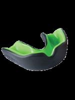 Gilbert Gilbert Virtuo Density Mouthguard, Black/Green Adult