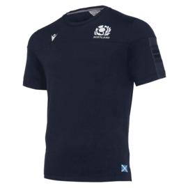 Macron Macron SRU M19 6NT Official Travel Polycotton Junior Tee (2019)