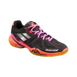 Babolat Babolat Shadow Spirit Ladies Indoor Shoe (2018) Black/Purple/Pink 7