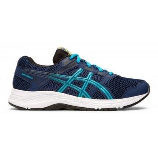 Asics Asics Gel-Contend 5 Junior Running Shoe, Blue Expanse/Island Blue (2019)