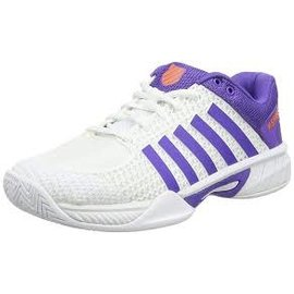 K Swiss K-Swiss Express Light Ladies Tennis Shoes (2017) White/Purple 7.5
