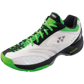 Yonex Yonex Power Cushion Durable 2 Mens Tennis Shoe White/Green 8.5