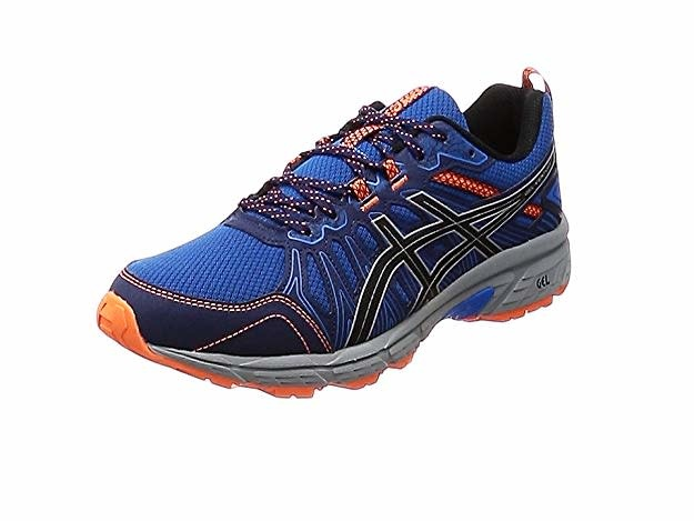 the latest 9cd0c 52536 Asics Gel-Venture 7 Mens Trail Running Shoes (2019) Electric Blue/ Sheet  Rock