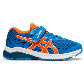 Asics Asics GT 1000 8 Junior Running Shoe (2019) Directoire Blue/Koi