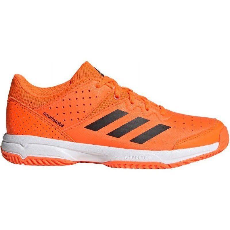 Adidas Court Stabil Jr Indoor Shoe (2019) - Orange