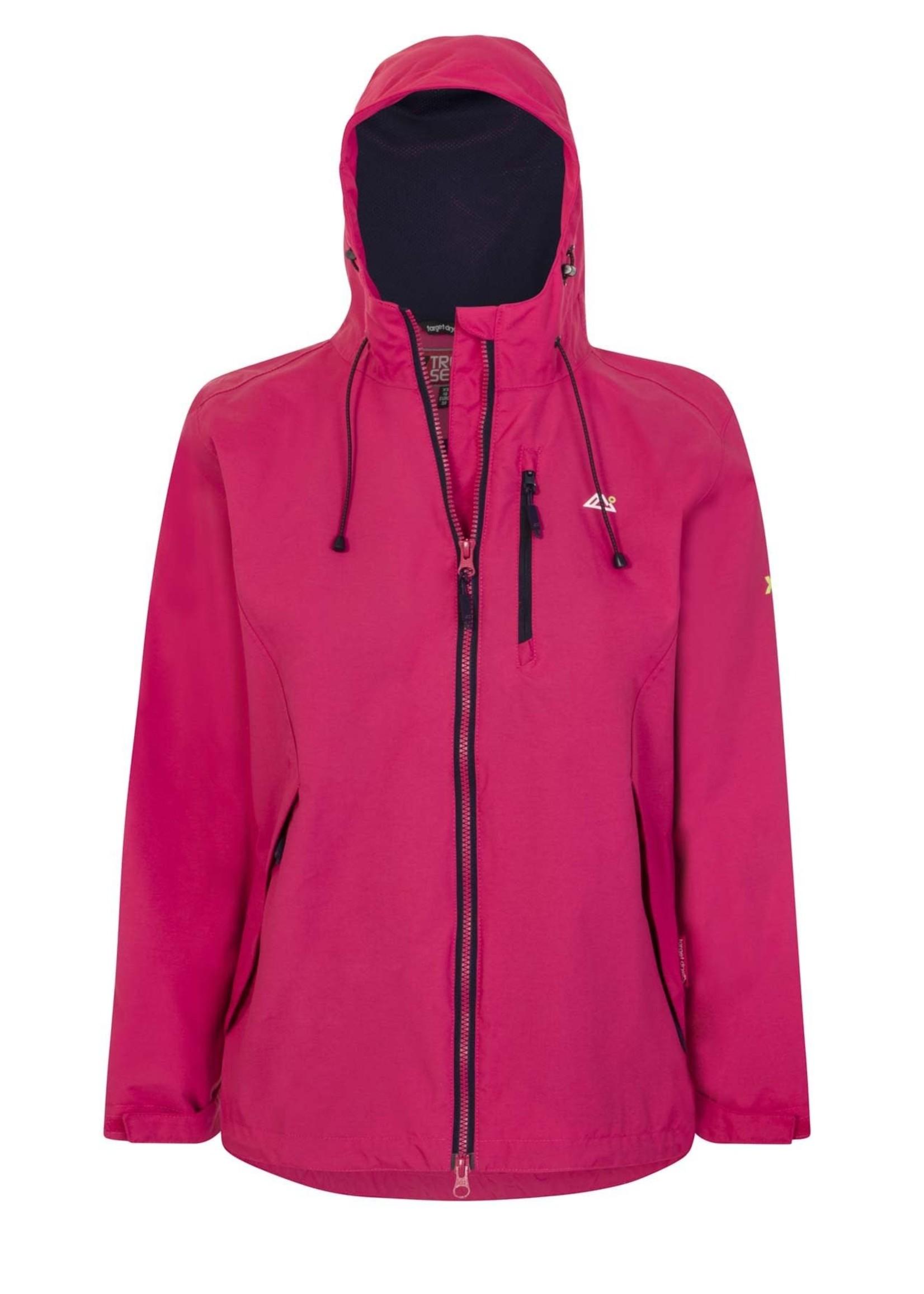 Target Dry Target Dry Solar 2  Ladies  Waterproof Jacket - Fuchsia