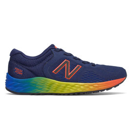 new balance New Balance Arishi V2 Junior Running Shoe - Navy/Yellow/Orange