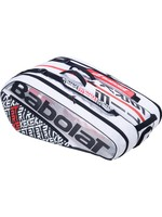 Babolat Babolat Pure Strike 12 Racket Bag, White/Red (2019)