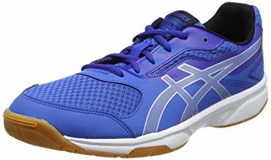 nouveau style e5910 dbc5f Asics Gel-Upcourt 2 Mens Indoor Court Shoes Classic Blue/Silver/Asics Blue  10