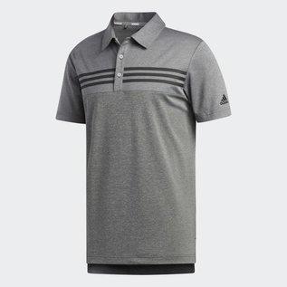 Adidas Adidas Heather Blocked Mens Golf Polo (2019)