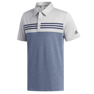 Adidas Adidas Golf Heather Block Mens Polo (2019)