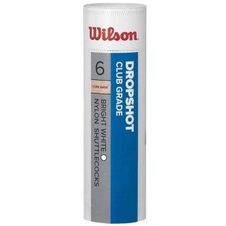 Wilson Wilson Dropshot Shuttlecock, White [6]