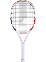 "Babolat Babolat Pure Strike Junior 25"" Tennis Racket, White/Red/Black (2019)"