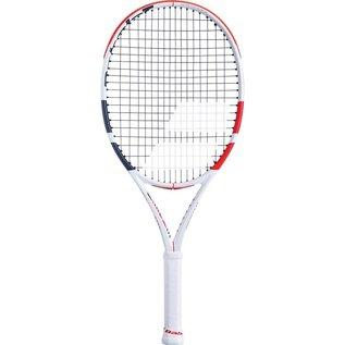 """Babolat Babolat Pure Strike Junior 25"""" Tennis Racket, White/Red/Black (2019)"""