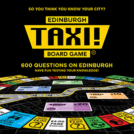 Taxi! Board Game - Edinburgh Edition (2019)