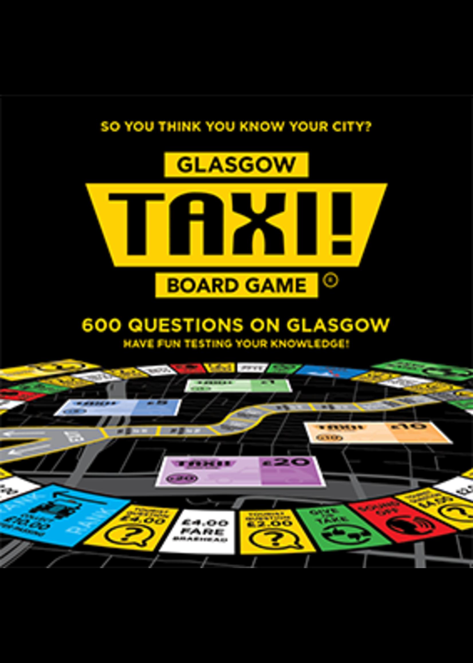 Taxi! Board Game - Glasgow Edition (2019)