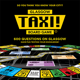 Taxi! Board Game - Glasgow Edition (2019)