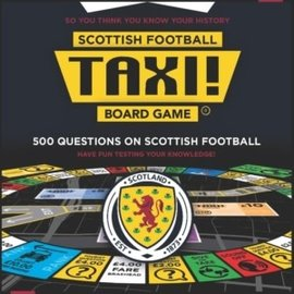 Taxi! Board Game - Scottish Football Edition (2019)