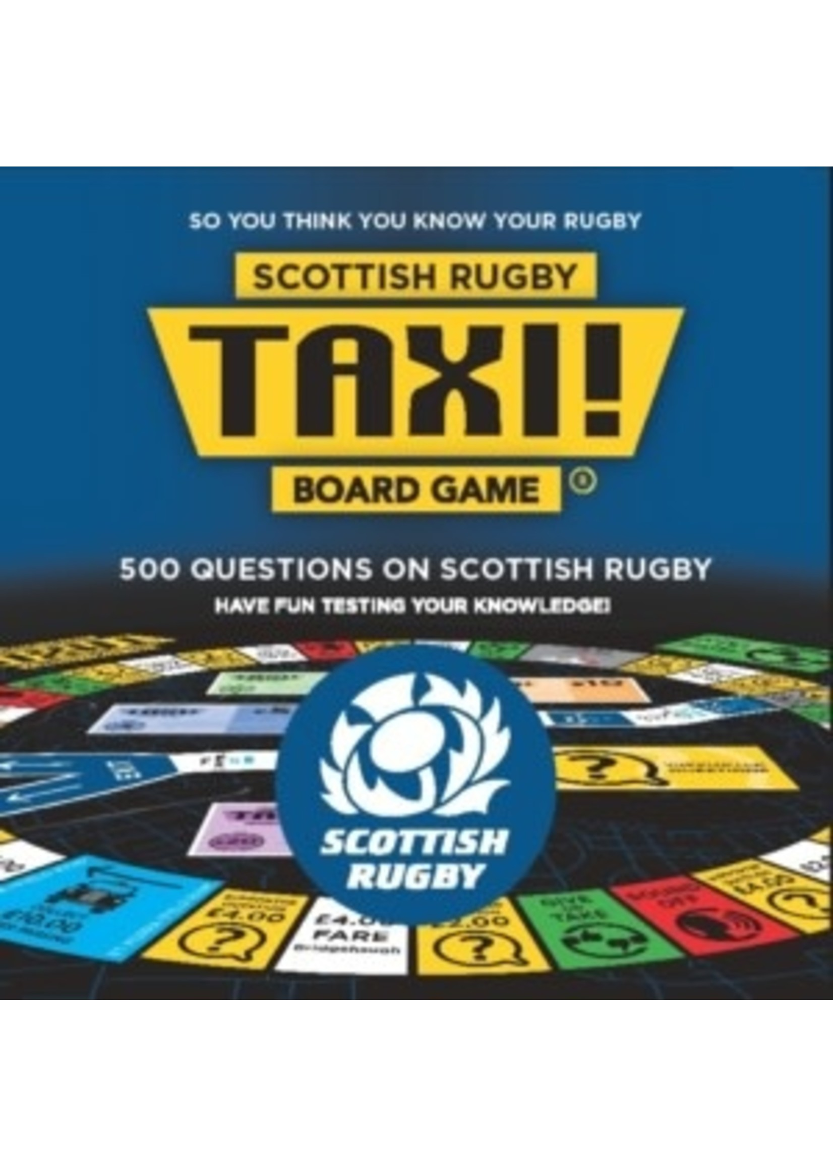 Taxi! Board Game - Scottish Rugby Edition (2019)