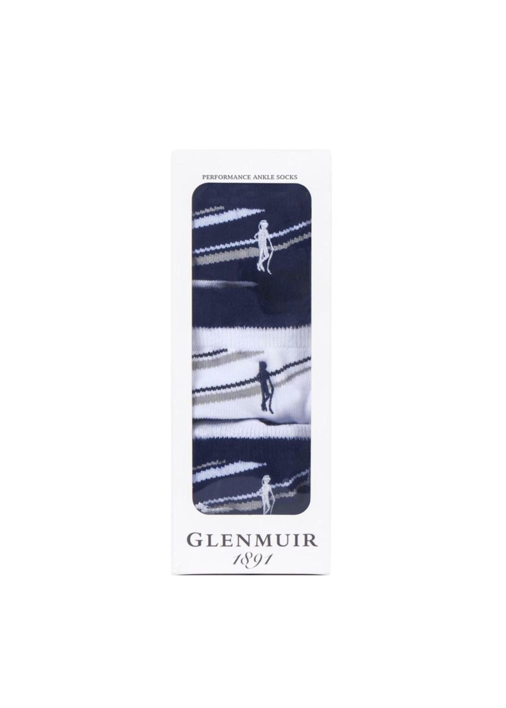 Glenmuir Glenmuir Megan Ladies Anklet Sock 3 Pack (2019)