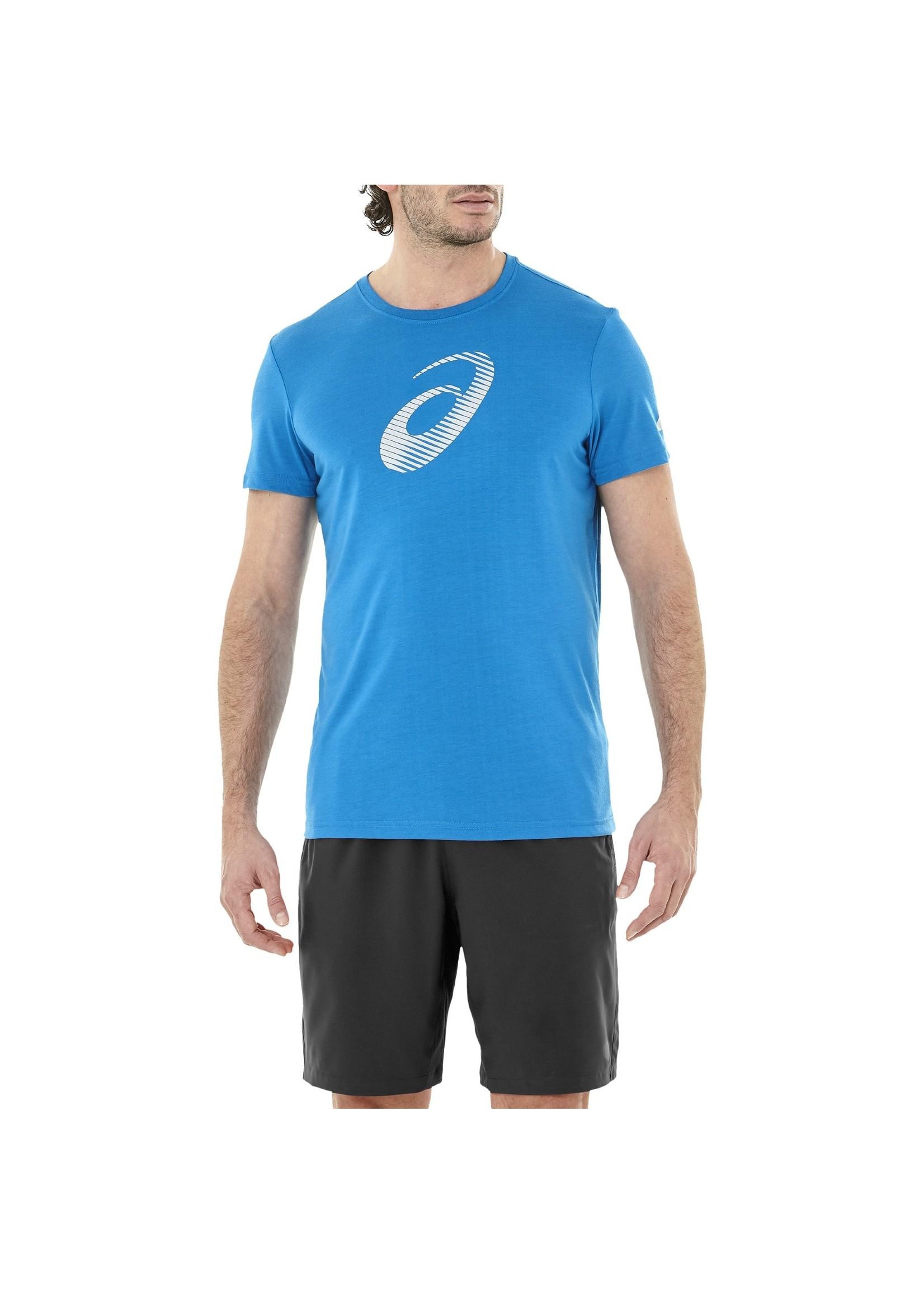 Asics Asics Mens GPX SS Fitness & Training Top, Race Blue