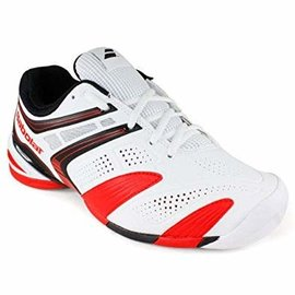 Babolat Babolat V-Pro All Court Gents Tennis Shoes White/Red 10.5