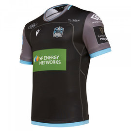 Macron Macron Glasgow Warriors M19 Senior Home Replica Shirt (2019/20)