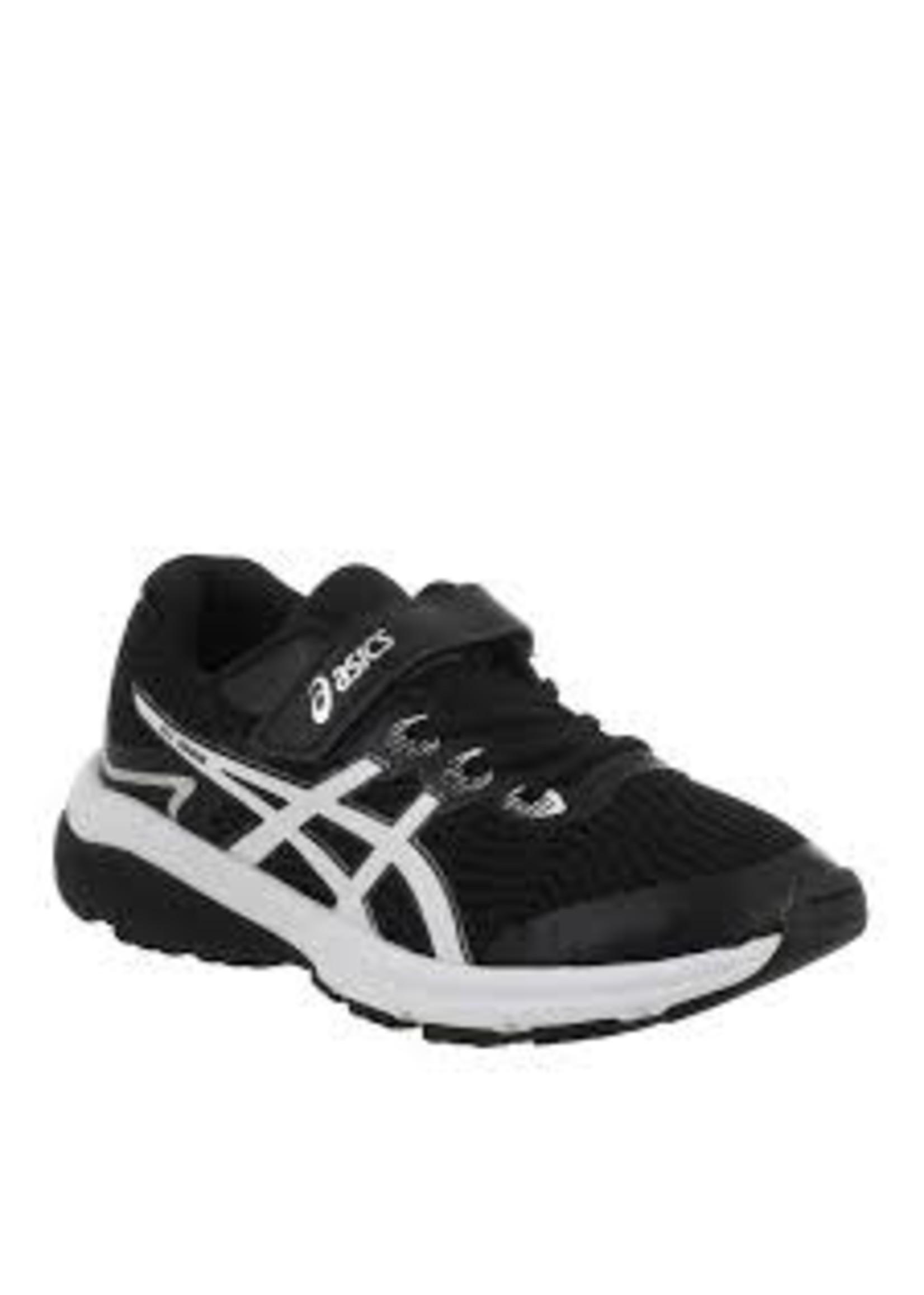 Asics Asics GT-1000 8 PS Junior Running Shoe, Black/White