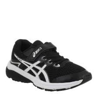 Asics Asics GT-1000 8 PS Junior Running Shoe, Black/White