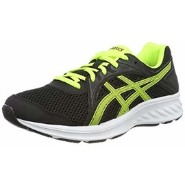Asics Asics Jolt 2 PS/GS Junior Running Shoe, Safety Yellow/Black