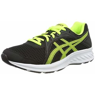 Asics Asics Jolt 2 PS/GS Junior Running Shoe, Safety Yellow/Black