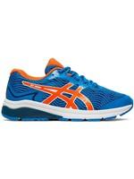 Asics Asics GT 1000 8 GS Junior Running Shoe, Directoire Blue/Koi