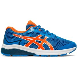 Asics Asics GT 1000 8 GS Junior Running Shoe, Directoire Blue/Koi