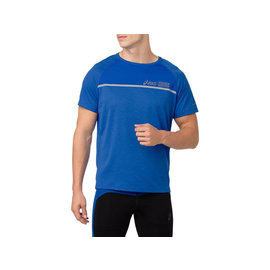 Asics Asics SS Gents Running Top, Illusion Blue