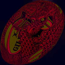 Gilbert Gilbert Warrior Novelty Rugby Ball