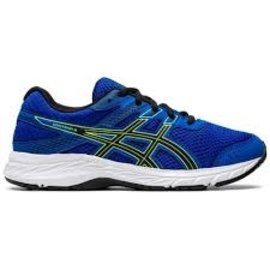 Asics Asics Contend 6 GS Junior Running Shoe, Tuna Blue/Black