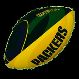 Wilson Wilson NFL Team Logo American Football (Green Bay Packers)