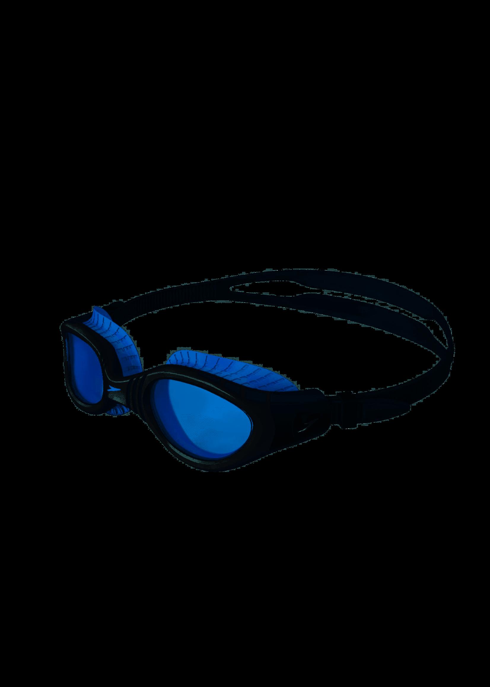 Speedo Speedo Adult Futura Biofuse Flexiseal, Blue/White