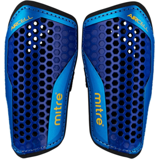 mitre Mitre Aircell Carbon Shinguard, Blue