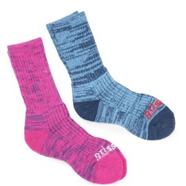 Gri-Sport GriSport Merino Ladies Socks, 3 Pack (2020), Pink/Blue 36-41