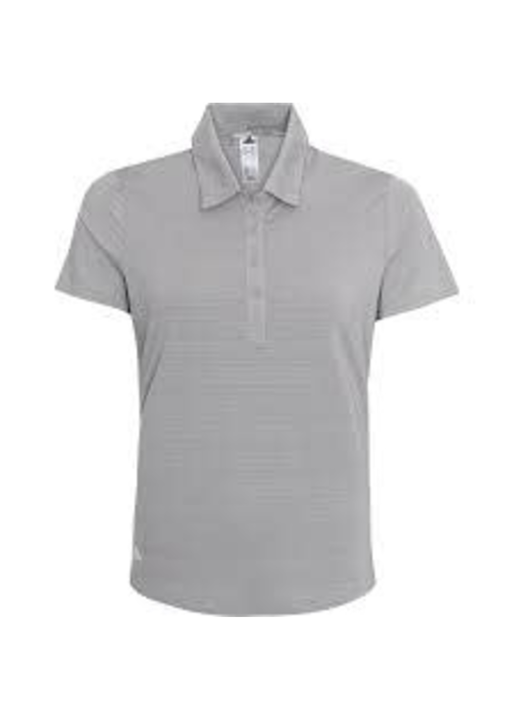 Adidas Adidas F19498 Ladies Polo Shirt Microdot Grey (2020)