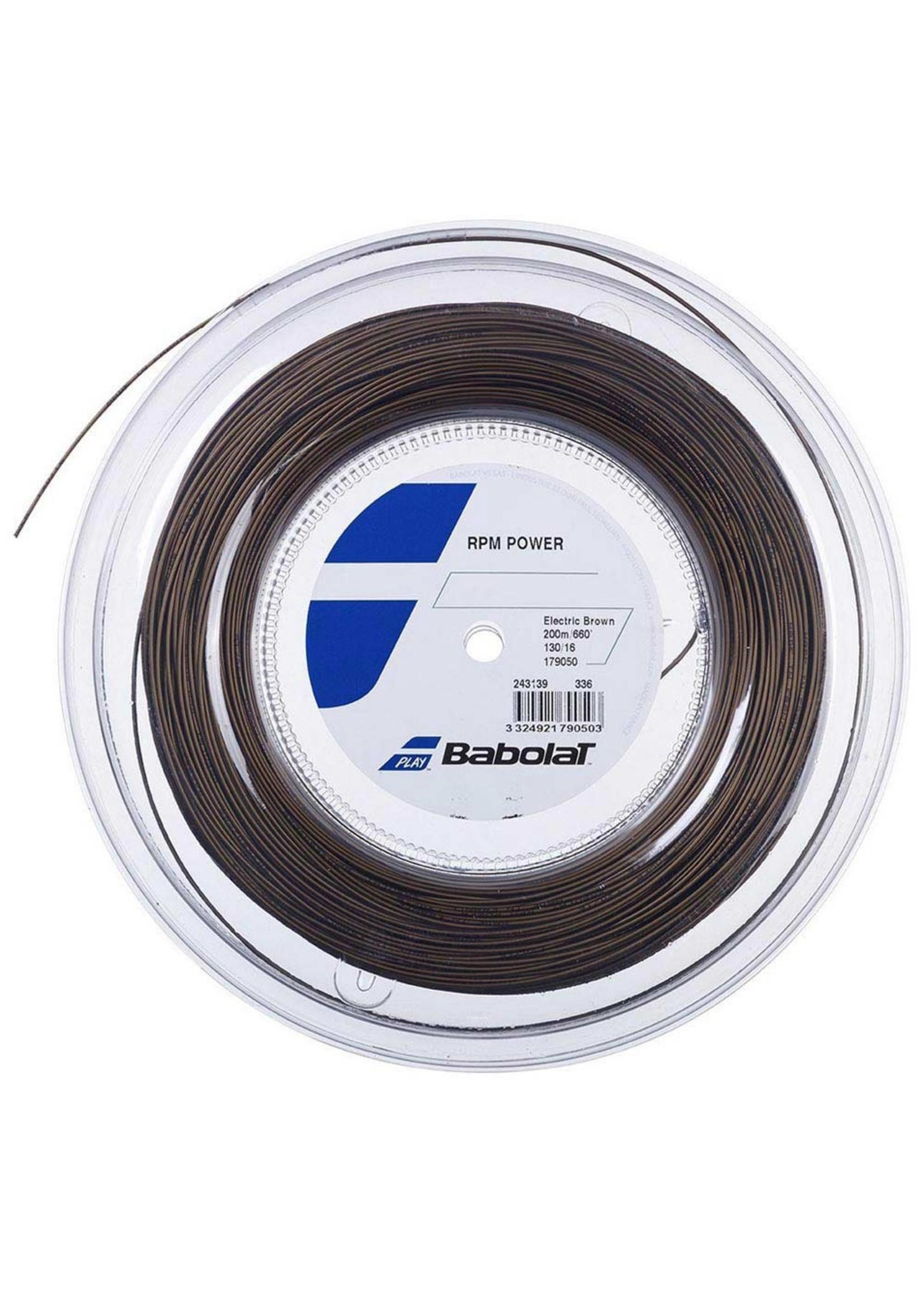 Babolat Babolat RPM Power Tennis String - 200m Reel