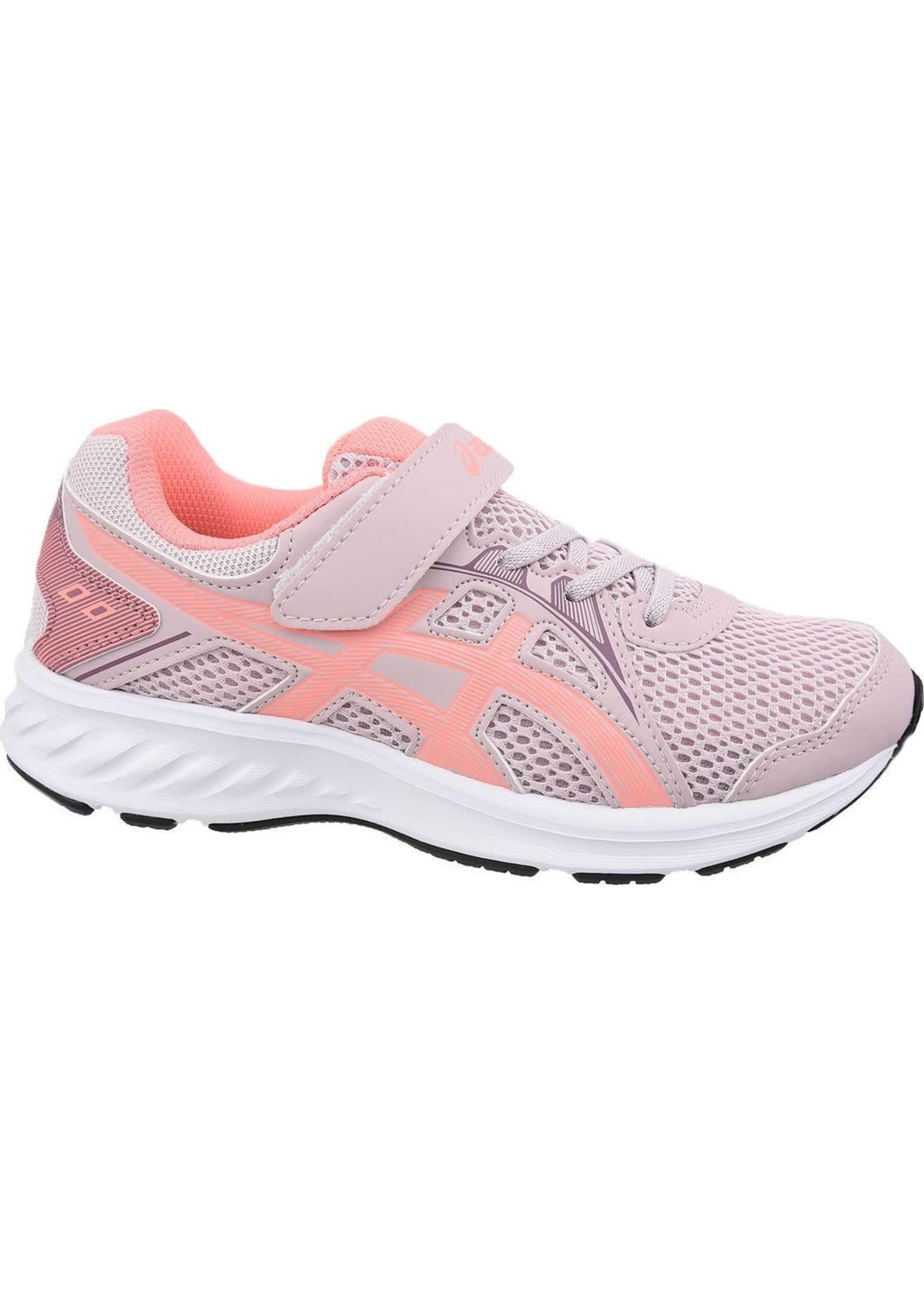 Asics Asics Jolt 2 Junior Running Shoe, Watershed Rose/Sun Coral