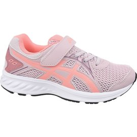 Asics Asics Jolt 2 Junior Running Shoe, Watershed Rose/Sun Coral